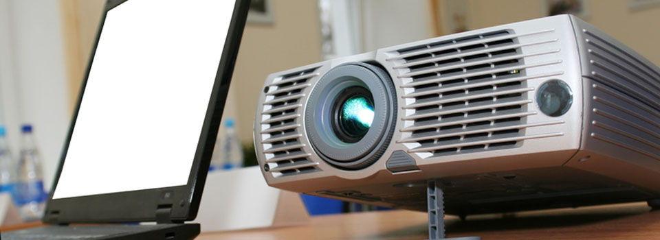 Lej projektor til møde